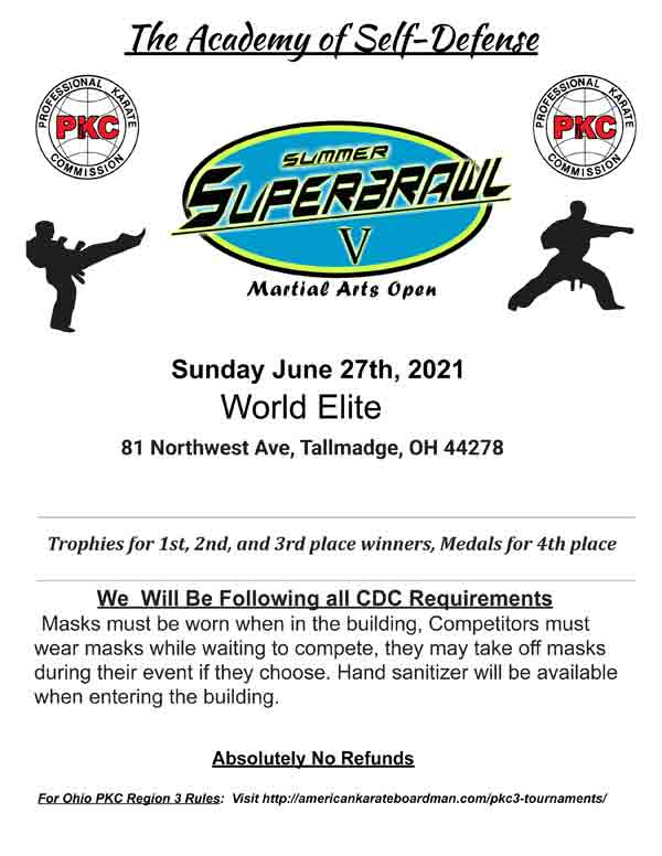 Summer Super Brawl V @ World Elite
